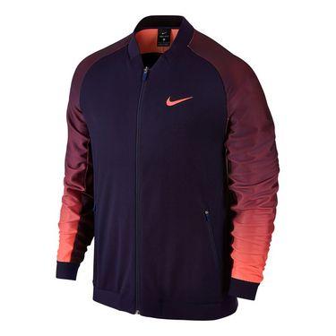 Nike Court Tennis Jacket - Purple Dynasty/Bright Mango