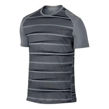 Nike Pro Cool Crew - Cool Grey/Black