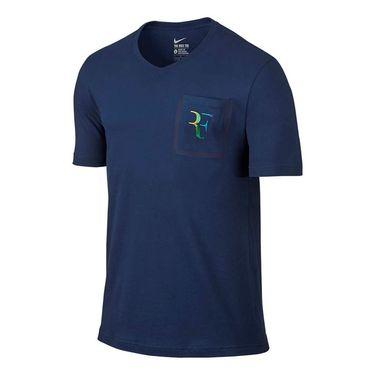 Nike RF Stealth Tee - Coastal Blue