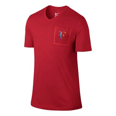 Nike RF Stealth Tee - University Red