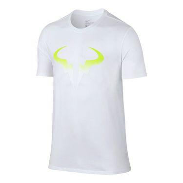 Nike Rafa Pop Tee - White/Volt