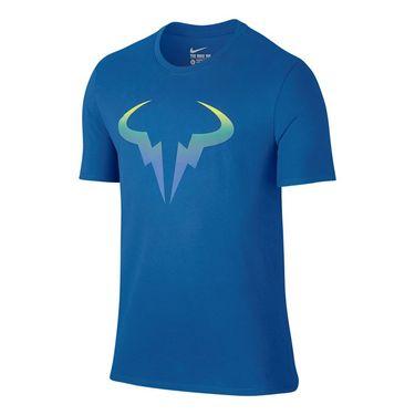 Nike Rafa Pop Tee - Blue Spark/Volt