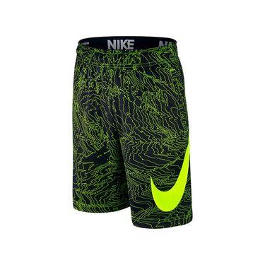 Nike Boys Dry Training Short - Black/Volt