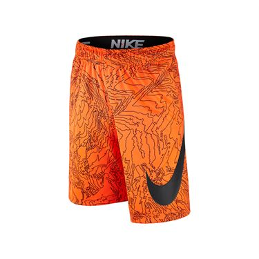 Nike Boys Dry Training Short - Total Orange/Anthracite