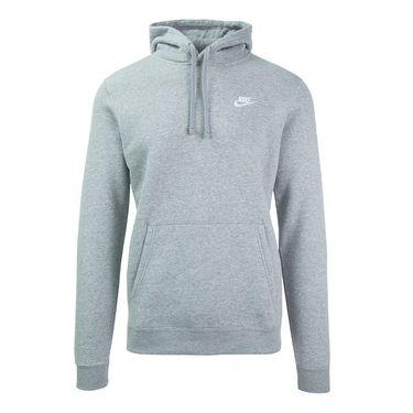 Nike Fleece Club Hoodie - Dark Grey Heather