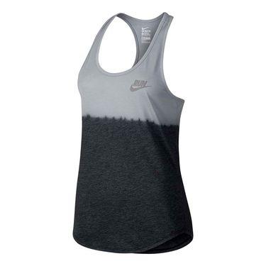 Nike Running Tank - Wolf Grey/Black
