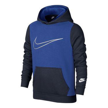 Nike Boys Sportswear Hoodie - Obsidian