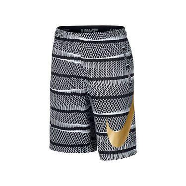 Nike Boys Dry Training Striped Short - Black