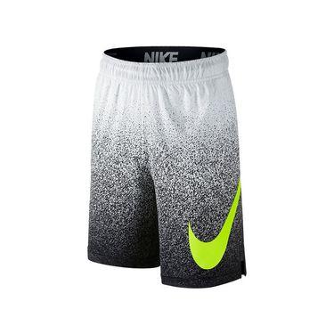 Nike Boys Dry Training Short - White/Volt