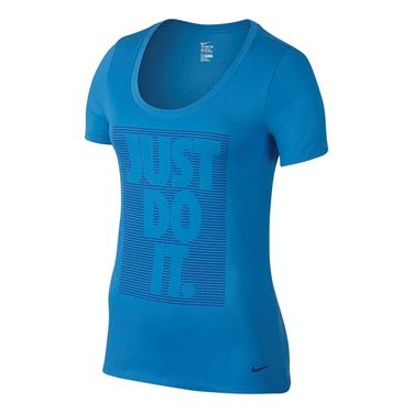 Nike Dry Training Tee - Light Photo Blue