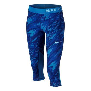Nike Girls Pro Cool Capri - Light Photo Blue
