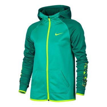 Nike Girls Therma Training Hoodie - Hyper Jade/Rio Teal