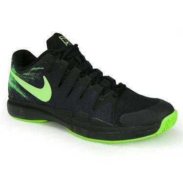Nike Zoom Vapor 9.5 Tour Mens Tennis Shoe - Black/Ghost Green/Electric Green/White
