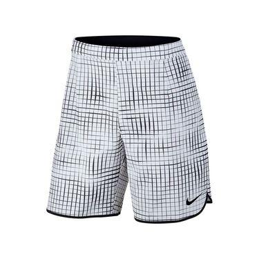 Nike Court Printed Gladiator Short - White/Black