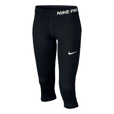 Nike Girls Pro Cool Capri - Black