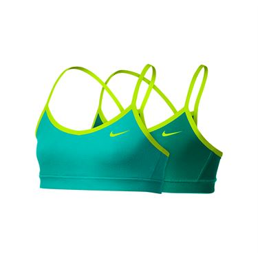 Nike Girls Bra - Washed Teal