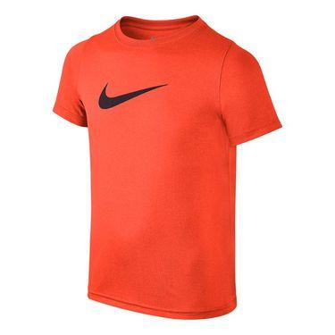 Nike Boys Dry Training Tshirt - Hyper Crimson/Black
