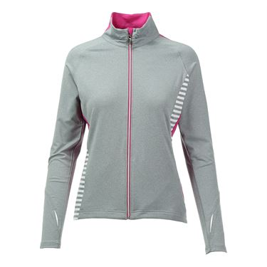 Bolle In the Pink Jacket - Grey Heather