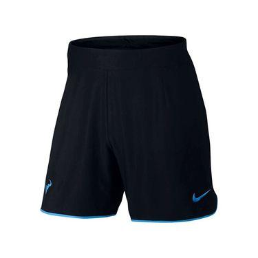 Nike Court Flex Rafa Gladiator Short - Black/Light Photo Blue