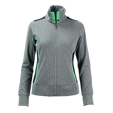 Bolle Priscilla Full Zip Jacket - Grey Heather