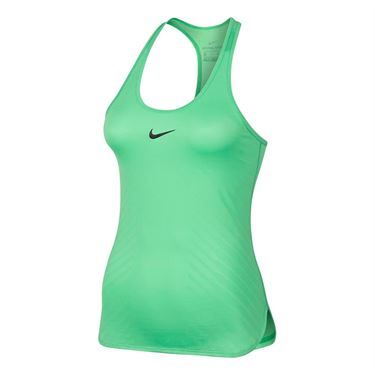 Nike Court Dry Tennis Tank - Electro Green
