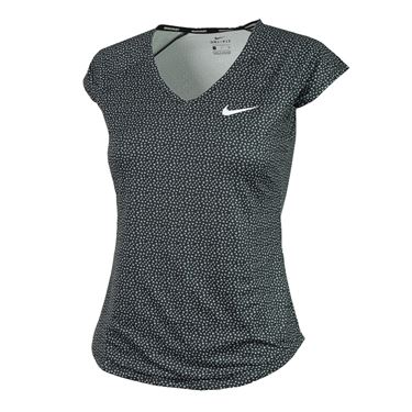 Nike Pure Short Sleeve Top - Black