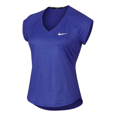 Nike Pure Short Sleeve Top - Paramount Blue