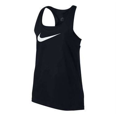 Nike Girls Breathe Tank - Black