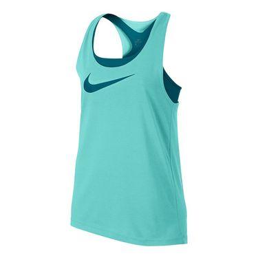 Nike Girls Breathe Tank - Light Aqua