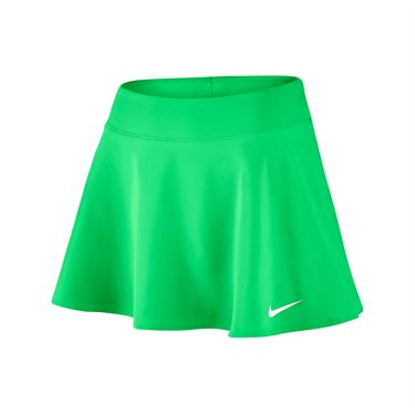 Nike Court Flounce 12 Inch Skirt REGULAR - Electro Green