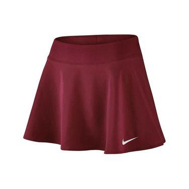Nike Court Flex Pure Skirt - Team Red/White