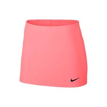 Nike Court Power Spin Skirt - Lava Glow/Black
