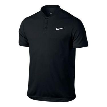 Nike Advantage Solid Pique Polo - Black