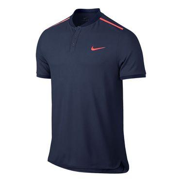 Nike Advantage Solid Pique Polo - Midnight Navy