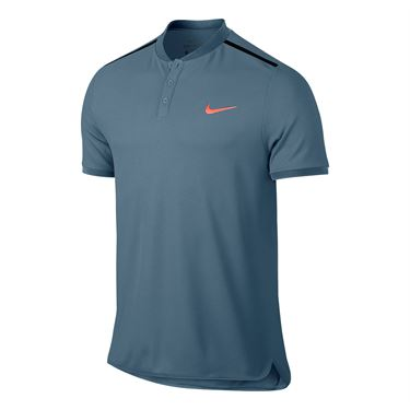 Nike Advantage Solid Pique Polo - Armory Blue
