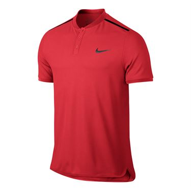 Nike Advantage Solid Pique Polo - Action Red