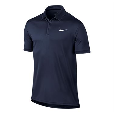 Nike Court Dry Team Polo - Midnight Navy