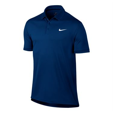 Nike Court Dry Team Polo - Blue Jay