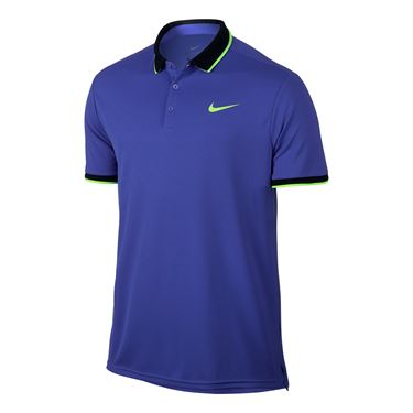 Nike Court Dry Team Polo - Paramount Blue
