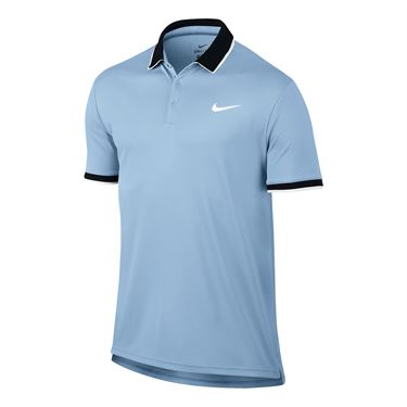 Nike Court Dry Team Polo - Hydrogen Blue