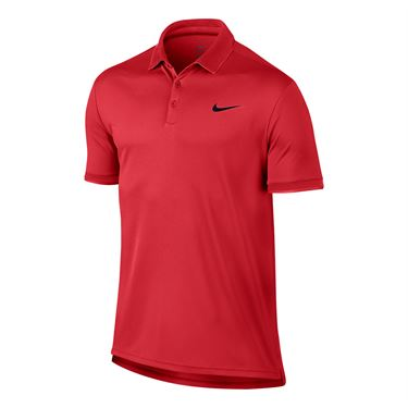 Nike Court Dry Team Polo - Action Red