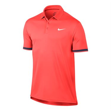Nike Court Dry Team Polo - Hot Punch