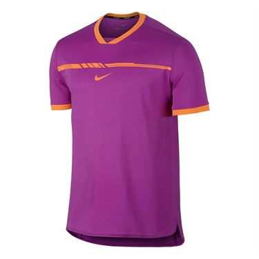 Nike Aero React Rafa Challenger Crew - Vivid Purple