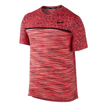 Nike Court Dry Challenger Crew - Action Red