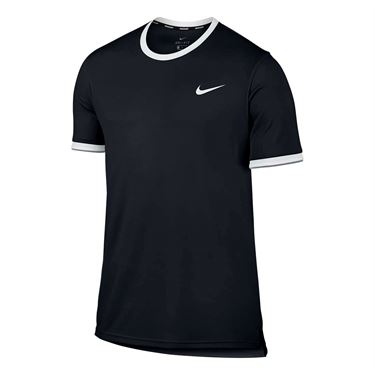 Nike Court Dry Team Crew - Black