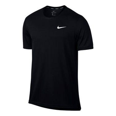 Nike Court Dry Team Crew - Black/White