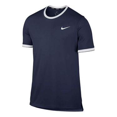 Nike Court Dry Team Crew - Midnight Navy
