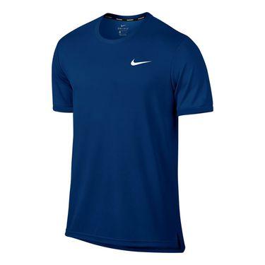 Nike Court Dry Team Crew - Blue Jay