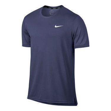Nike Court Dry Team Crew - Blue Recall/White