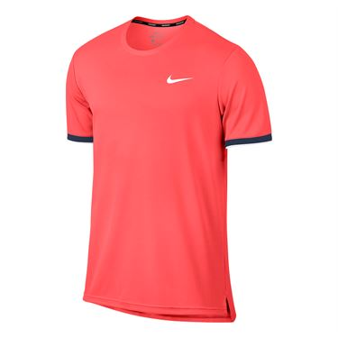 Nike Court Dry Team Crew - Hot Punch